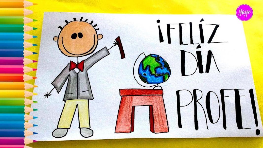palabras de agradecimiento a un profesor dibujo