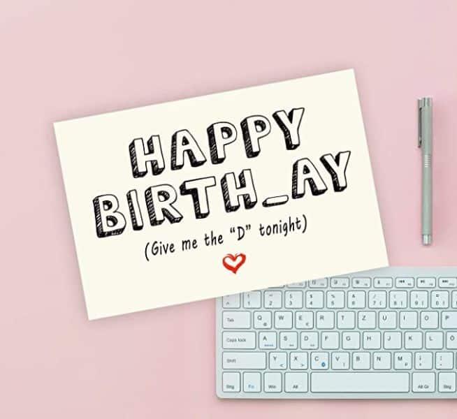 tarjetas de cumpleaños para mi novio creativas