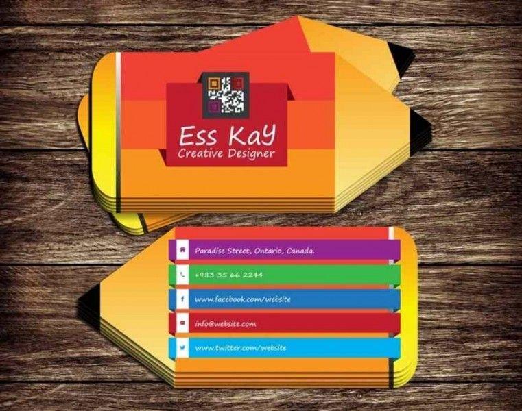 tarjetas de negocios ejemplos creativa