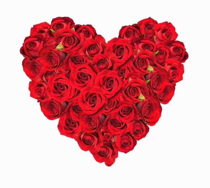 tarjetas virtuales dia de la madre corazon de rosas