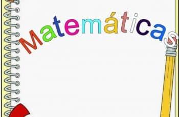 caratulas de matematicas para imprimir para agregar datos