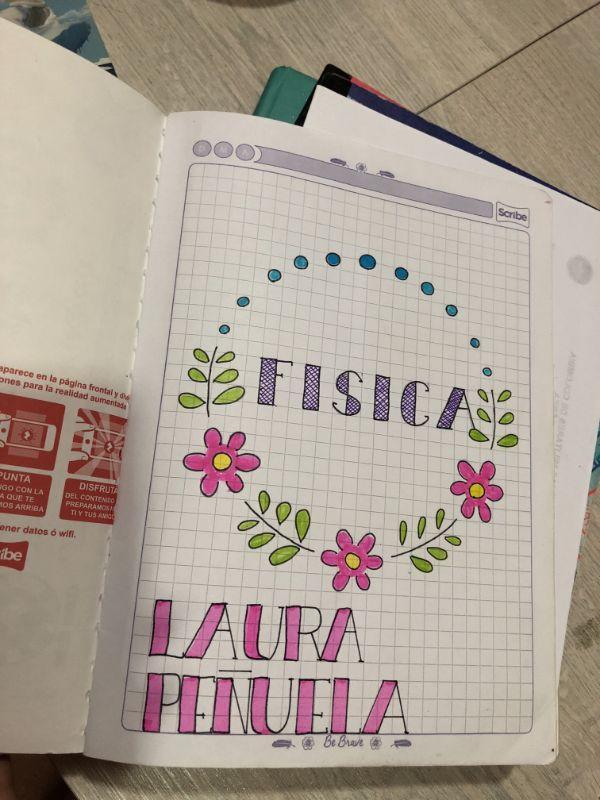 diseño de portadas de cuadernos dibujos