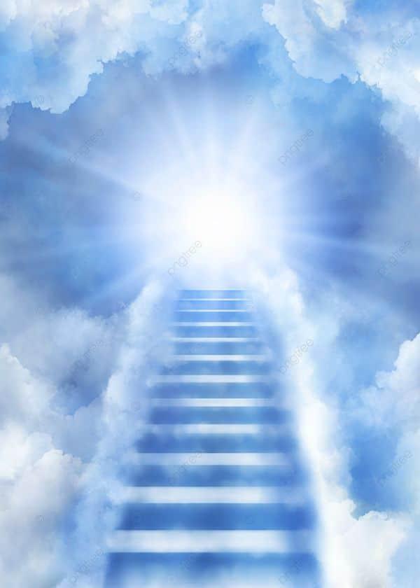 invitacion de misa virtual escalera al cielo