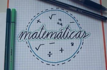 portadas para matematicas faciles dibujos