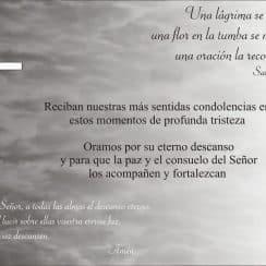 tarjetas de condolencias gratis oraciones