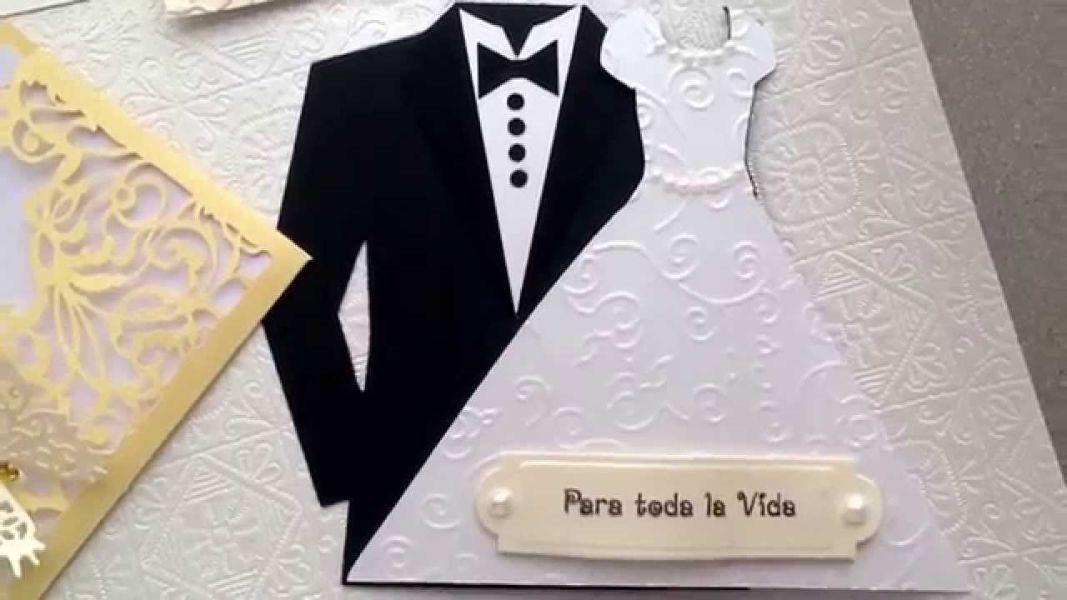 tarjetas de invitacion para matrimonio con dibujos