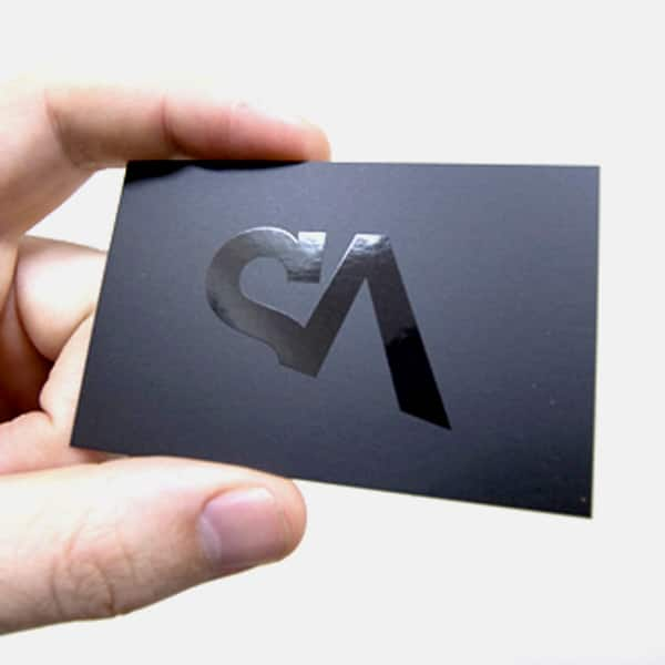 creacion de tarjetas de presentacion minimalistas con textura