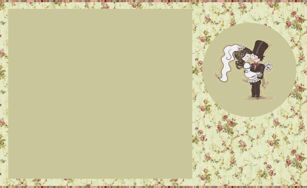 tarjeta de felicitaciones de matrimonio creaciones sencillas