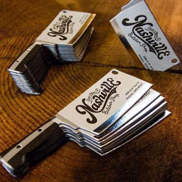 tarjetas de presentacion para chef divertidas