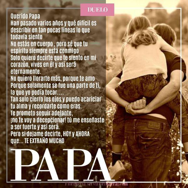 frases para los padres fallecidos carta