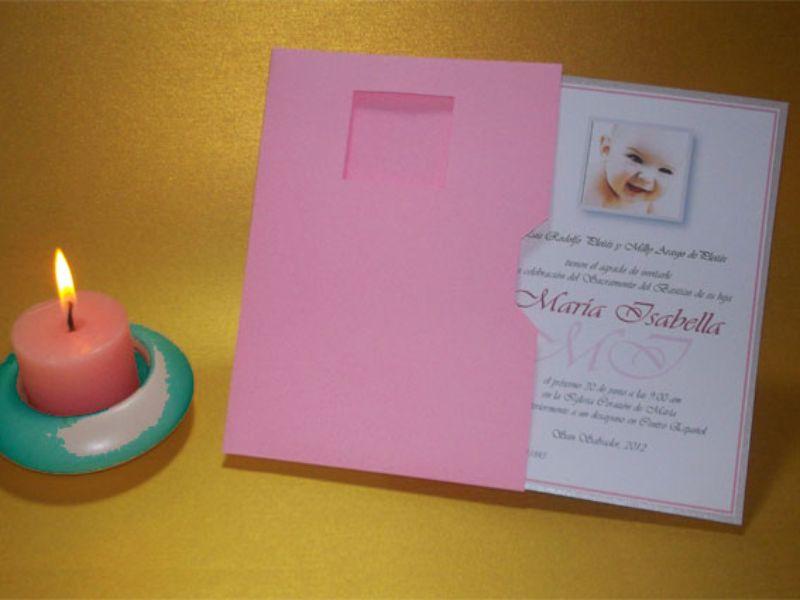 sobres para tarjetas de bautizo para fotos