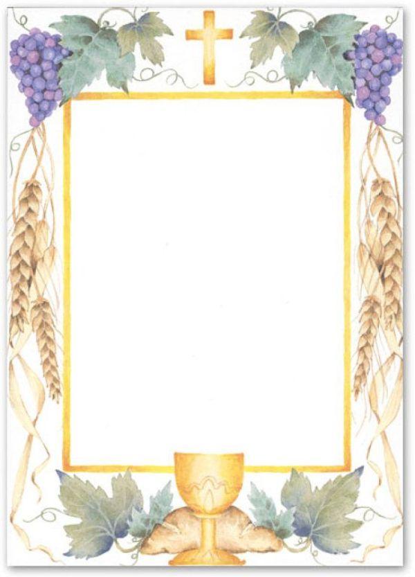 tarjetas de primera comunion para niña efigies religiosas
