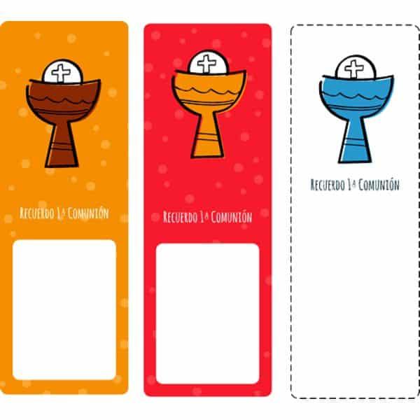 tarjetas de recuerdo de comunion para editar e imprimir