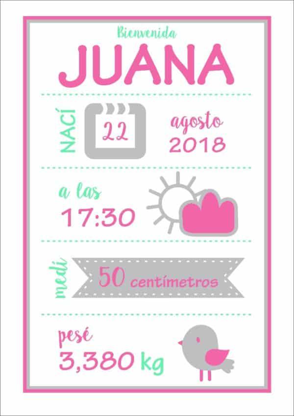 tarjetas para bebes recien nacidos invitaciones