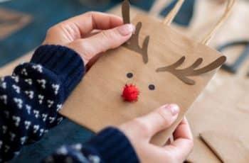 bolsitas de papel decoradas dibujos y recortes
