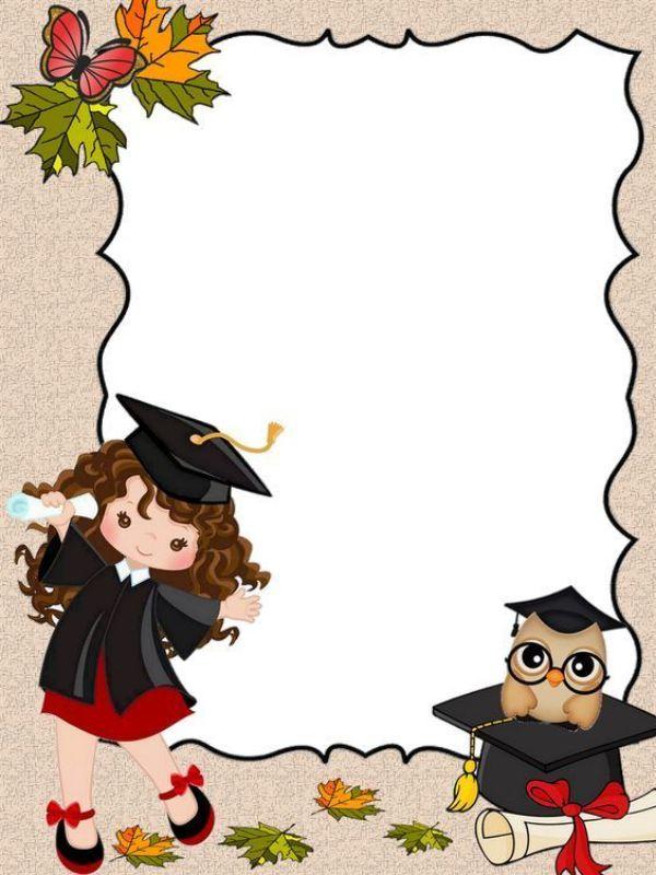 invitacion de graduacion universitaria para niños