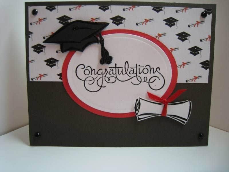tarjeta de felicitaciones de grado impresas