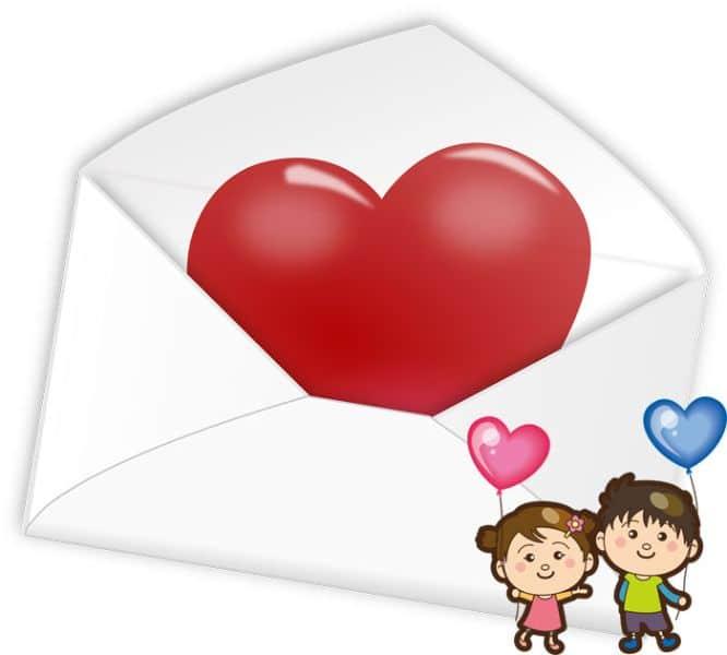 tarjetas de aniversario de novios con personajes coloridos