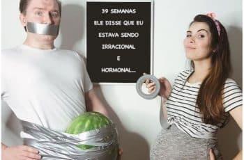 tarjetas para anunciar embarazo divertidas