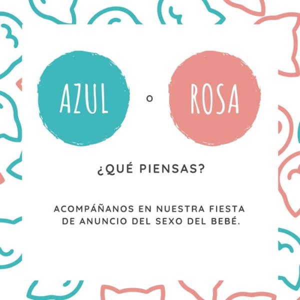 tarjetas para anunciar embarazo interactiva