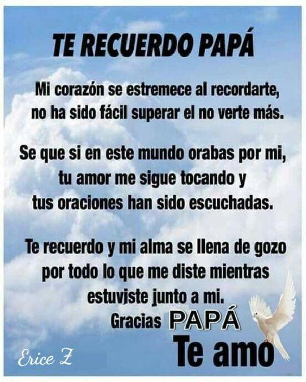 frases de luto para mi papa agradecimiento