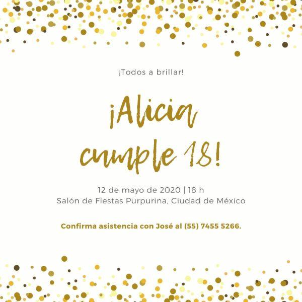 como hacer una invitacion de cumpleaños virtual modernas