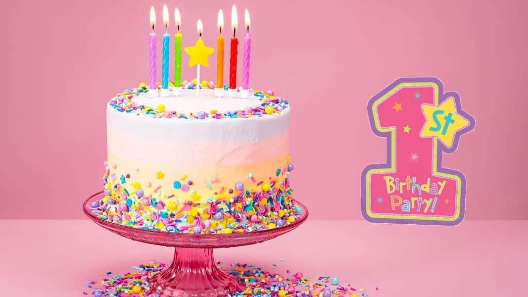 imagenes de cumpleaños para bebes un año