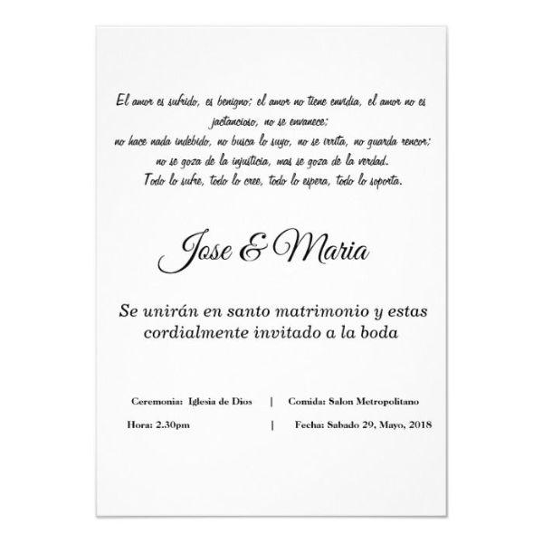 invitaciones de boda cristiana con frases