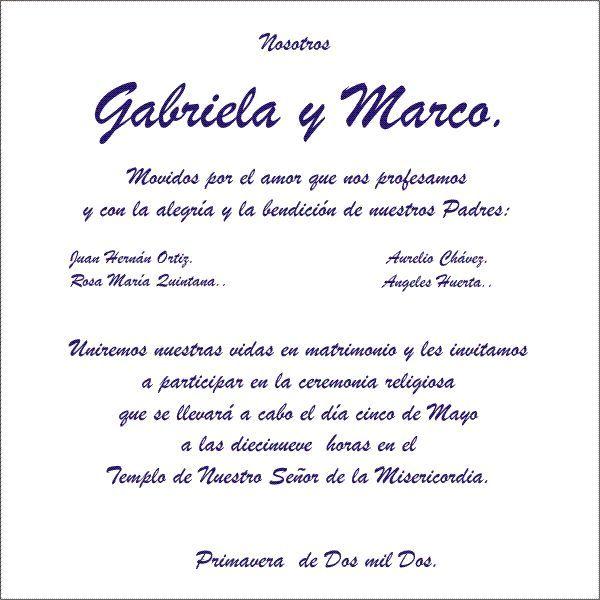 invitaciones de boda cristiana tipografia