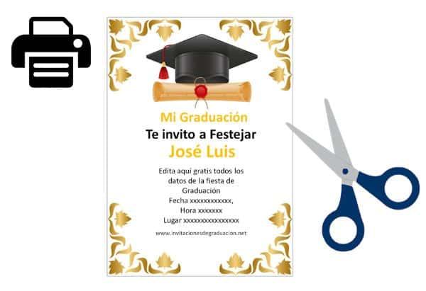 invitaciones para graduacion universidad alternativas rapidas