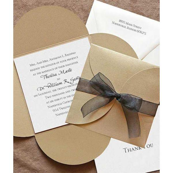 modelos de invitaciones para boda pequeñas con sobres