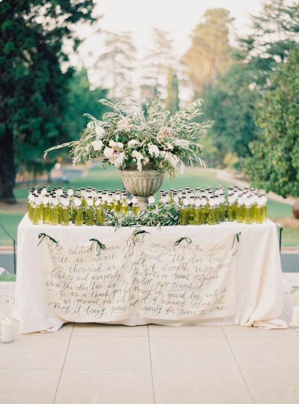 recuerdos de mesa para boda bebidas