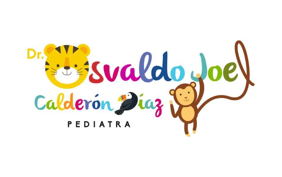 tarjetas de presentacion pediatra logo