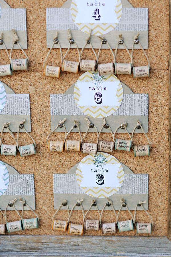 tarjetas para mesas de invitados indicadores de lugares