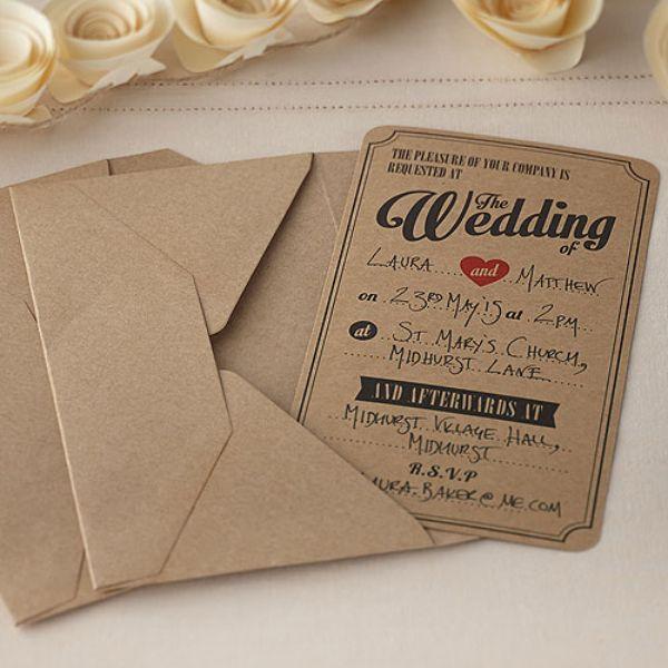 invitaciones hechas a mano letra de molde